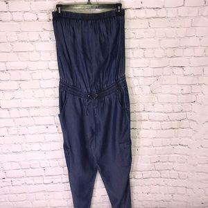 New York & Company halter jumpsuit